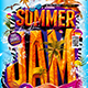 Flyer Summer Jam Party Konnekt - GraphicRiver Item for Sale