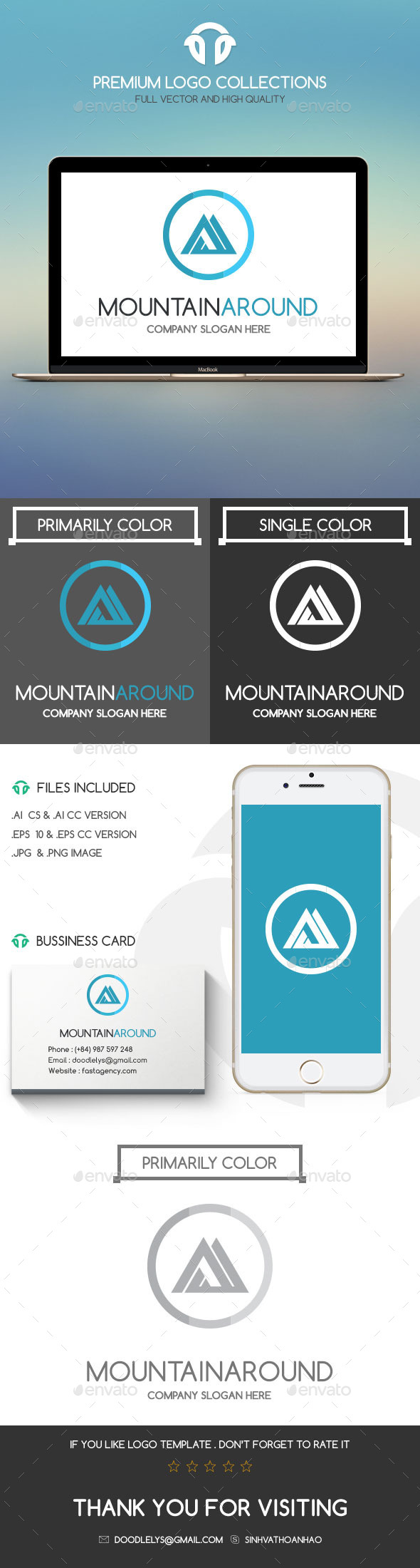 GraphicRiver Mountain Around 11367873