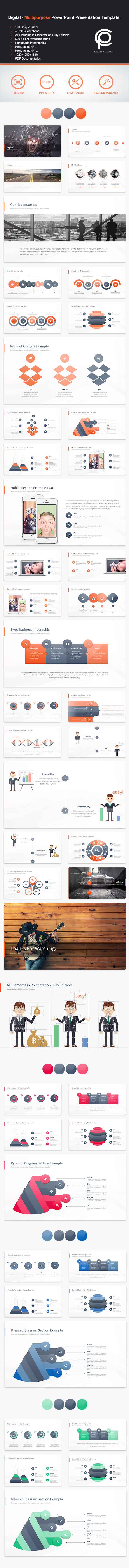 GraphicRiver Digital Multipurpose PowerPoint Presentation 11368460
