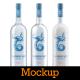 Vodka Bottle Mockup - GraphicRiver Item for Sale