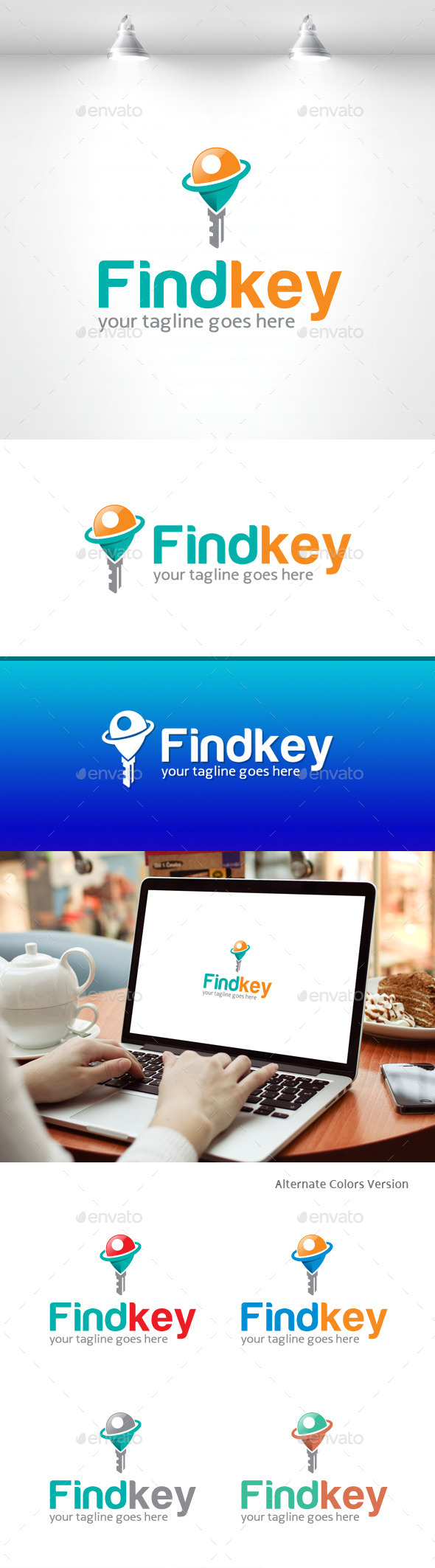 GraphicRiver Find Your Key Logo 11369151