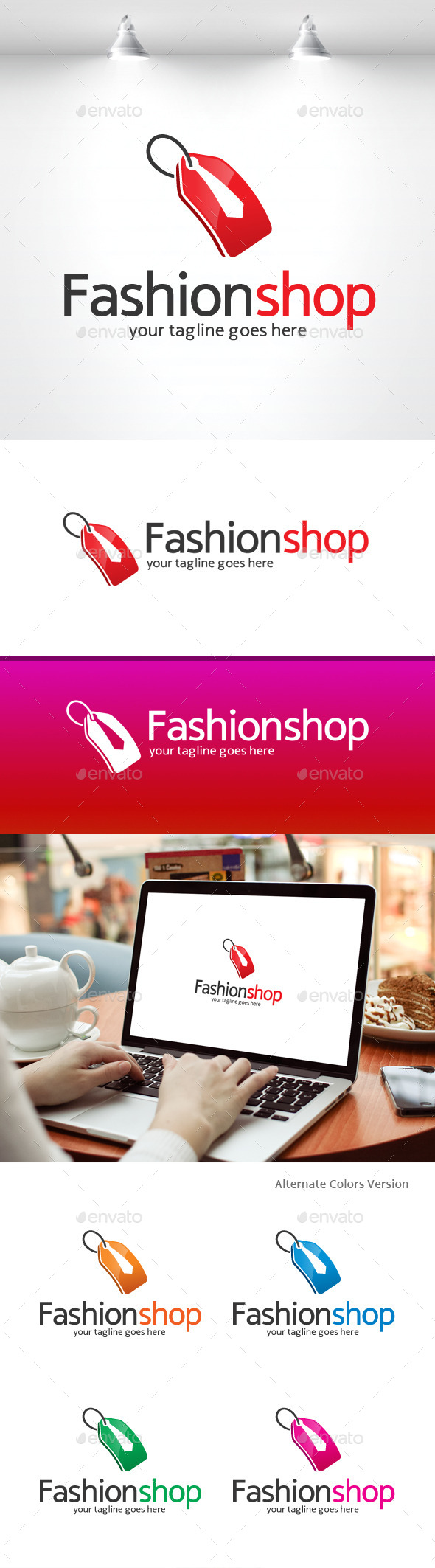 GraphicRiver Fashion Shop Logo 11369529