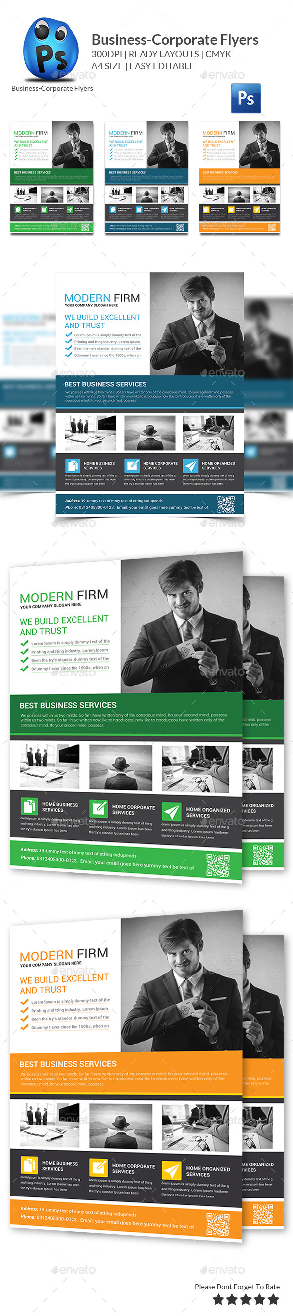 GraphicRiver Corporate Business Flyer Template 11369594