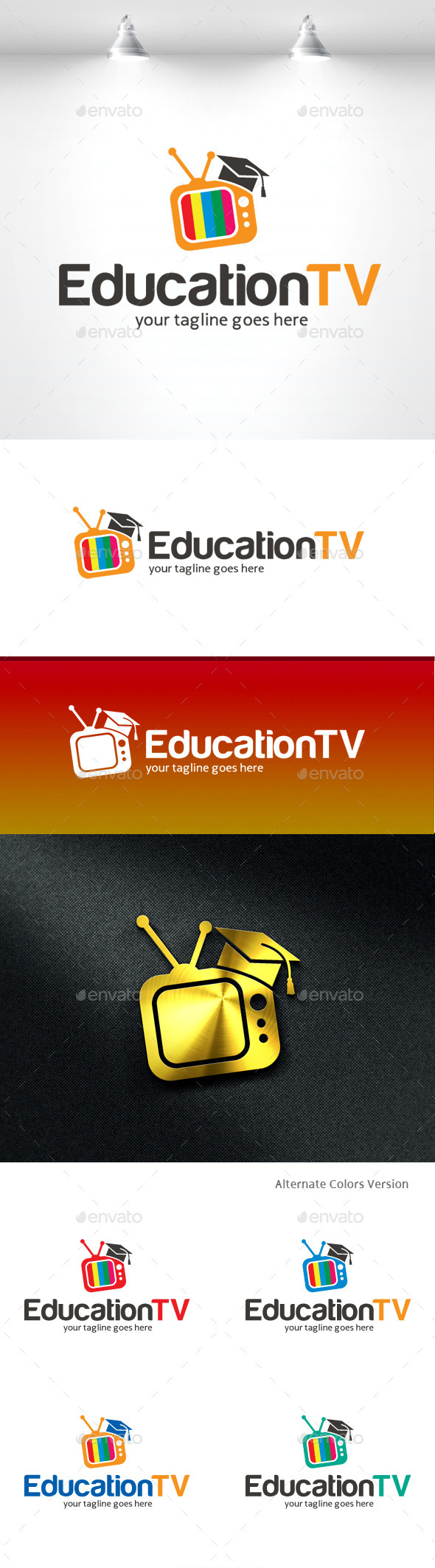 GraphicRiver Education TV Logo 11369611