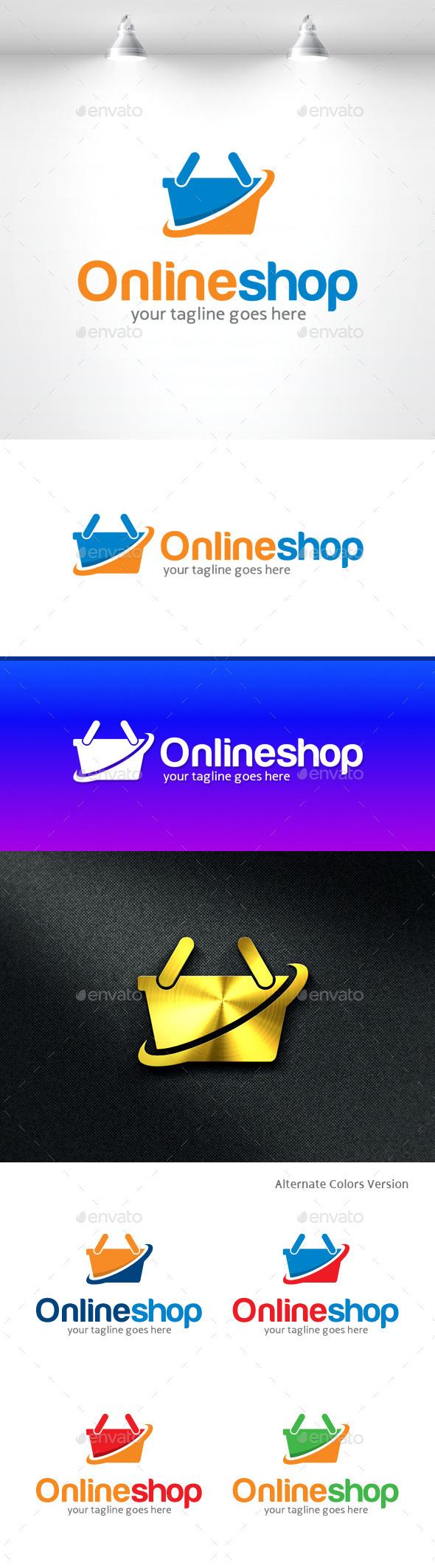 GraphicRiver Online Shop Logo 11369820