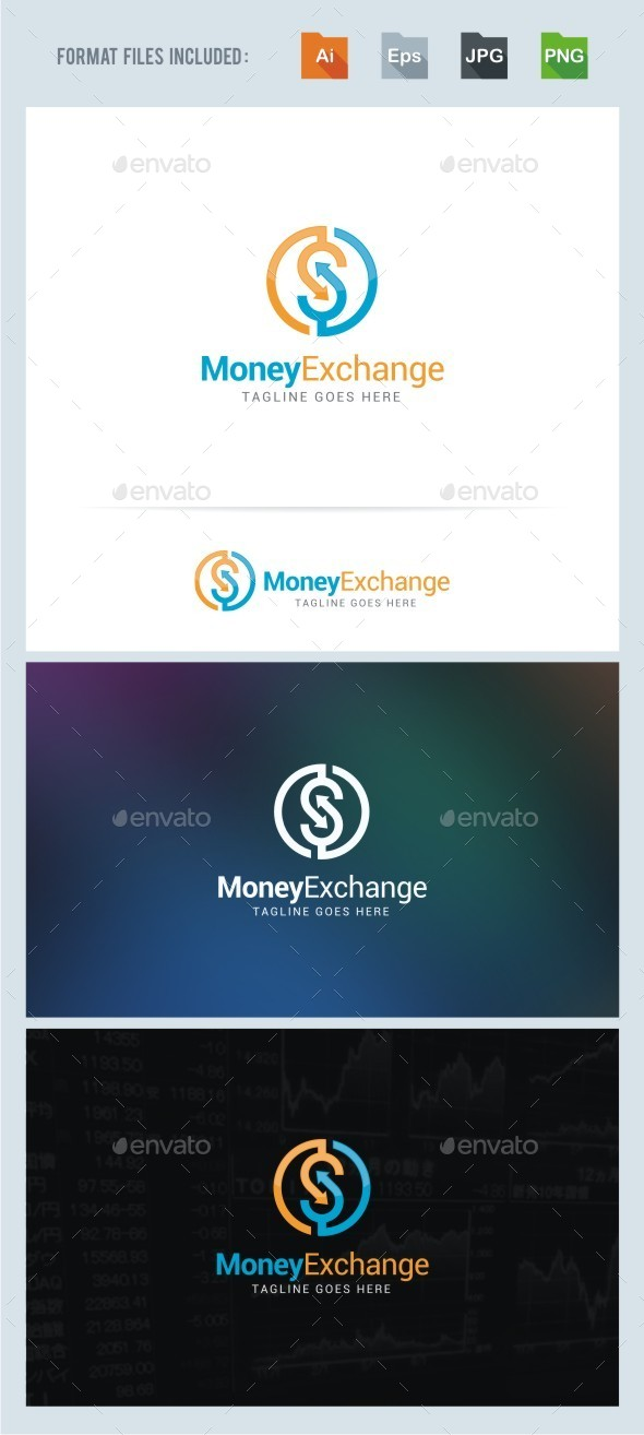 GraphicRiver Money Exchange Logo 11369877