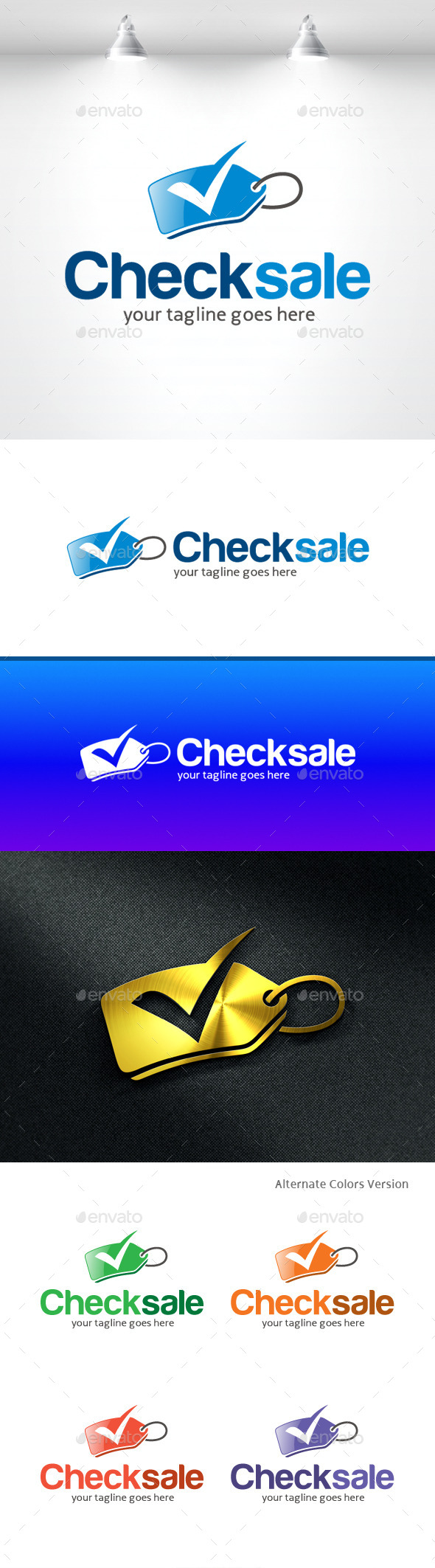 GraphicRiver Check Sale Logo 11370023