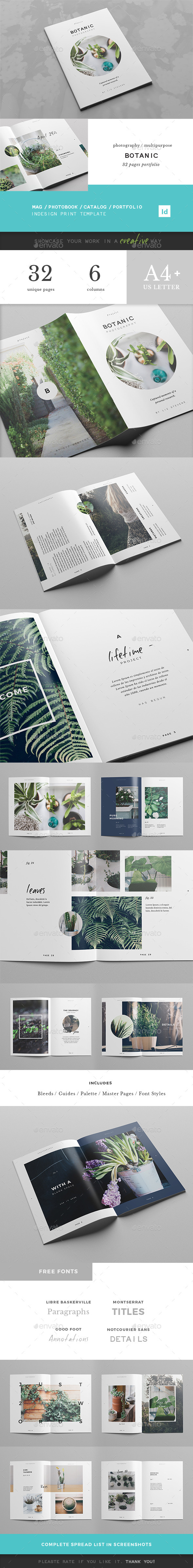 GraphicRiver Botanic Multipurpose Creative Portfolio 11370049