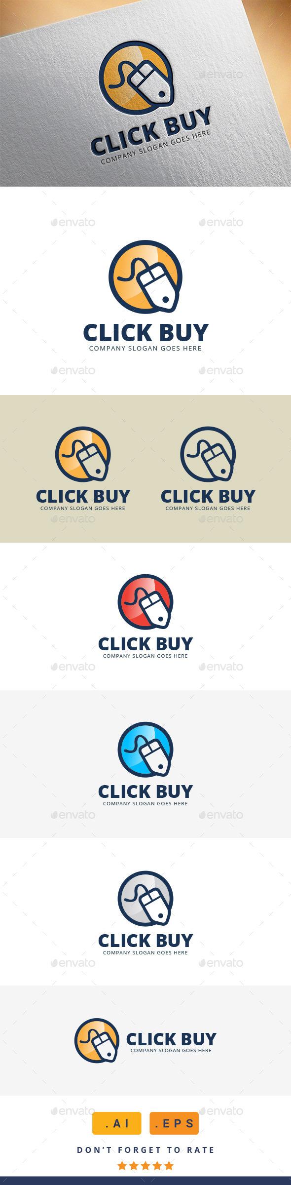 GraphicRiver Click Buy Logo 11370352