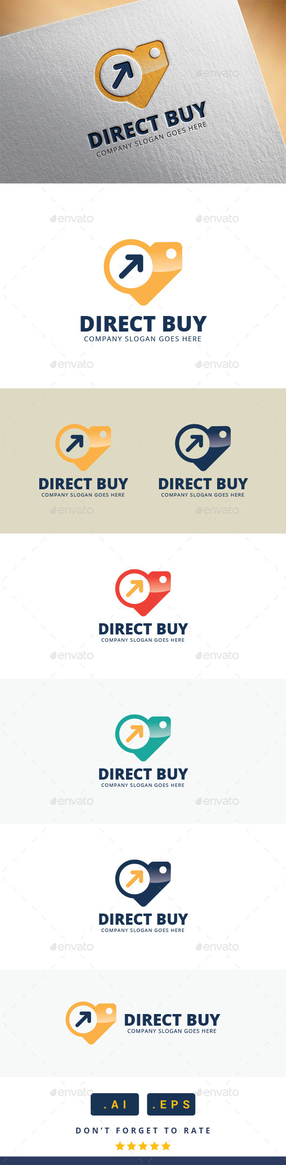 GraphicRiver Direct Buy Logo 11370404