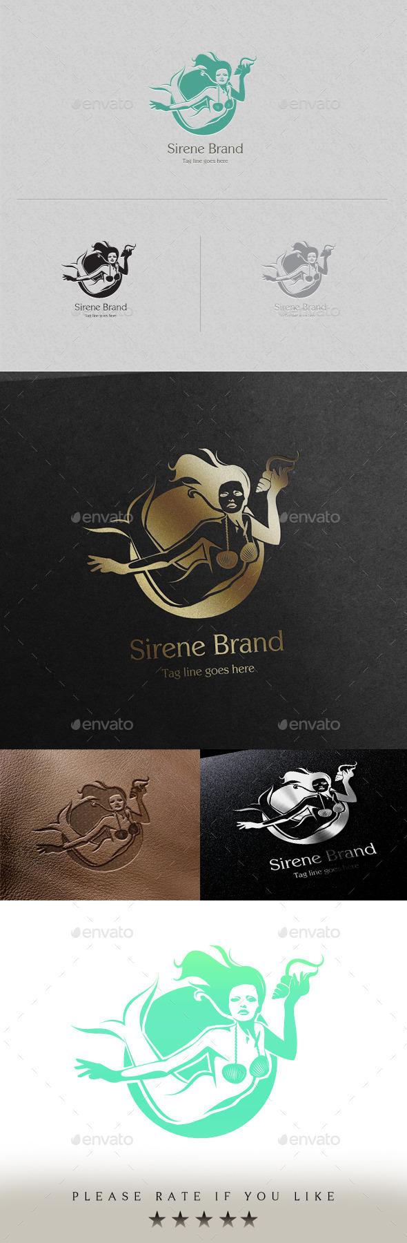 GraphicRiver Sirene Brand Logo Template 11370415