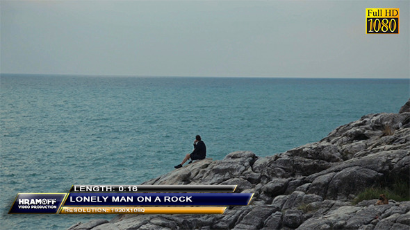 Lonely Man On A Rock