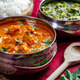 Butter chicken with rice and Saag Paneer - PhotoDune Item for Sale
