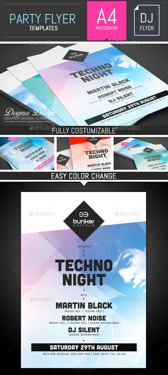 GraphicRiver Party Flyer Poster Template 11314666