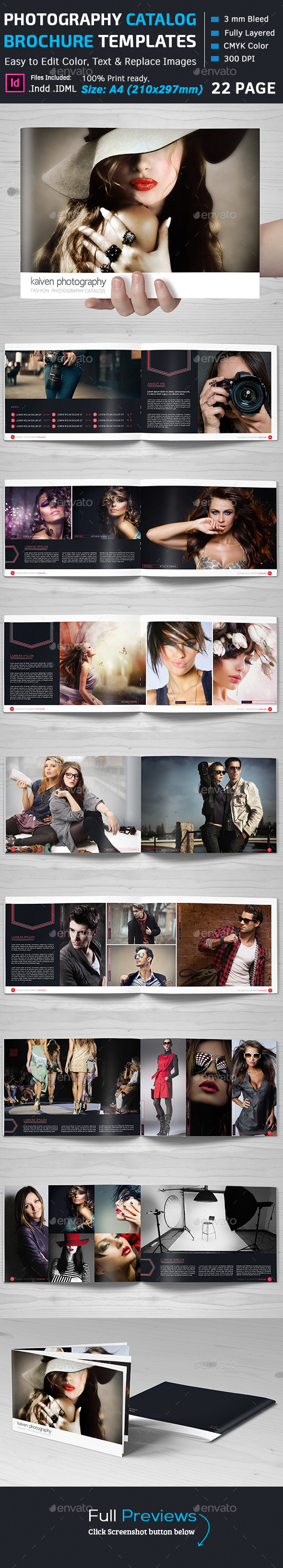 GraphicRiver Fashion Photography Catalog 11371981