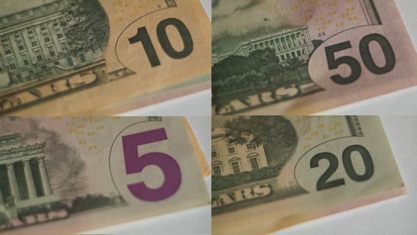 Money USA Dollars 8