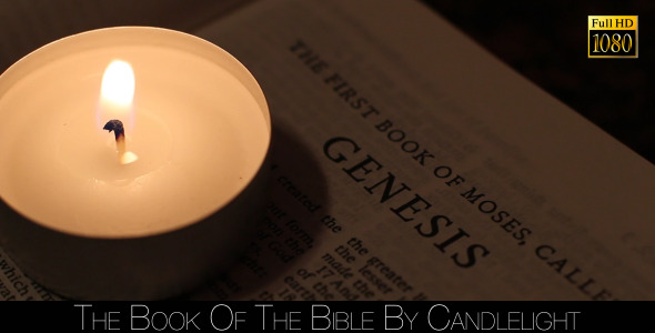 The Book Of The Bible By Candlelight