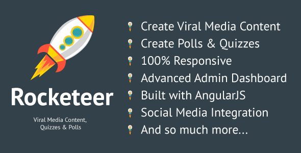 CodeCanyon Rocketeer Viral Media Content Quizzes and Polls 11372205