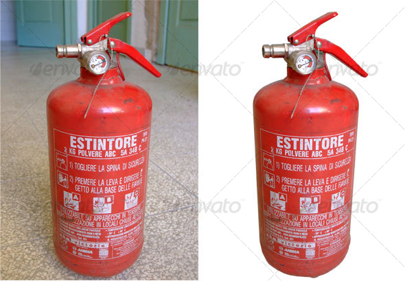 Fire Extinguisher - Industrial & Science Isolated Objects