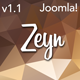 Zeyn | The Joomla Template - ThemeForest Item for Sale