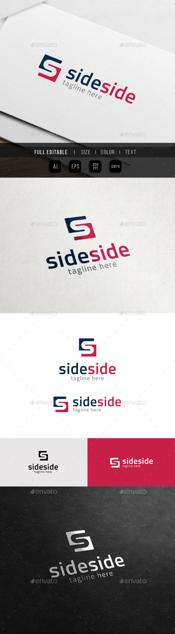 GraphicRiver Finance Side Business Marketing S Logo 11372945