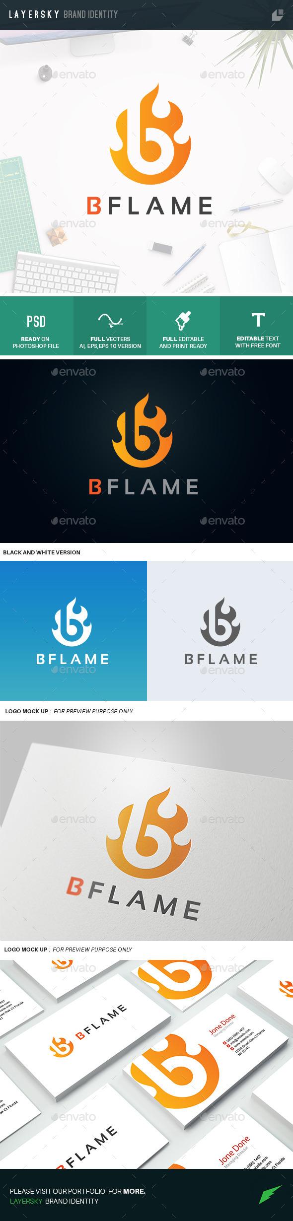GraphicRiver B Flame 11373305