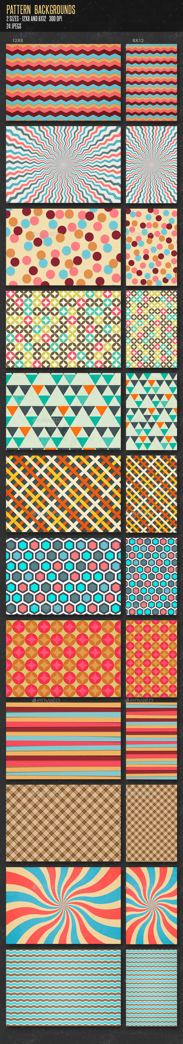 GraphicRiver Patterns Backgrounds 11373644
