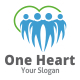One Heart Logo - GraphicRiver Item for Sale