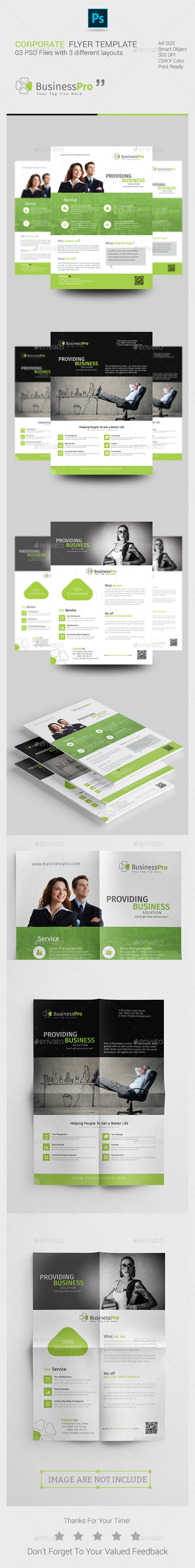 GraphicRiver Corporate Flyer 11373796