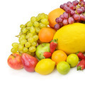 fruit and berries isolated on a white background - PhotoDune Item for Sale