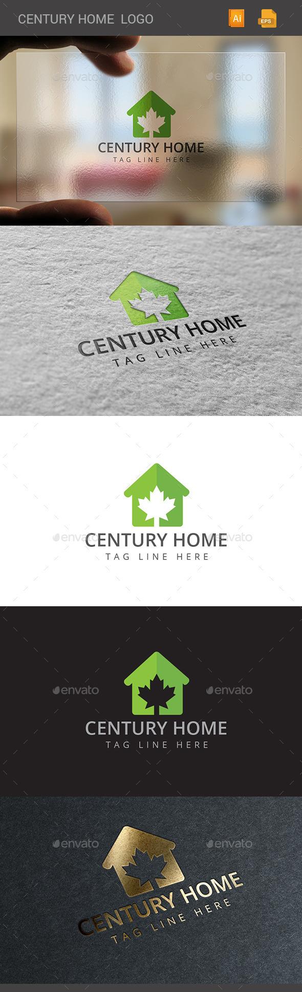 GraphicRiver Century Home Logo 11374477