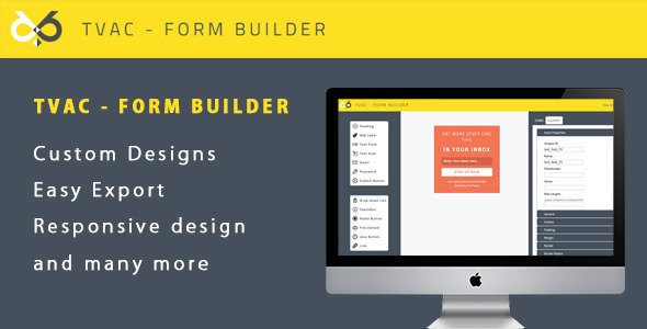 CodeCanyon TVAC Form Builder 11334826