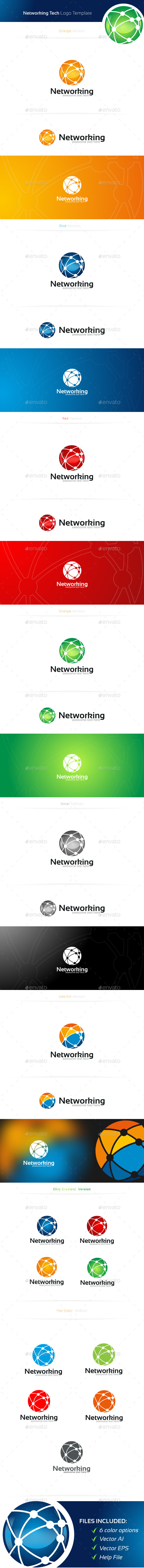 GraphicRiver Networking Logo 11374694