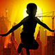 Jumping Boy On Background Of The Cityscape. - GraphicRiver Item for Sale