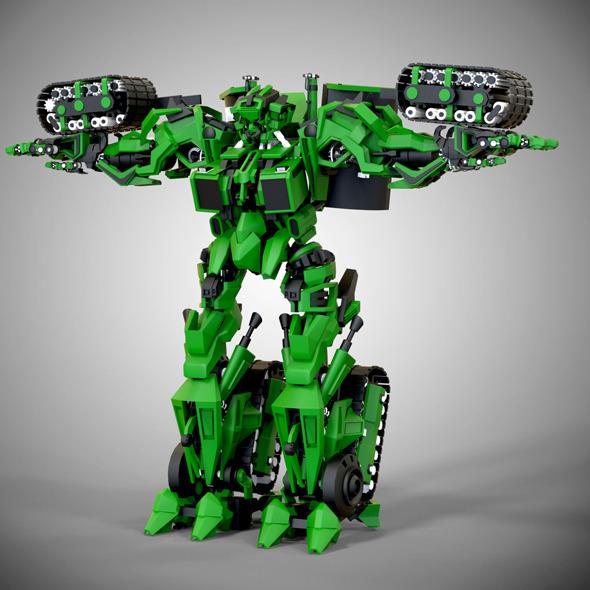 3DOcean Ultrabot 11374907