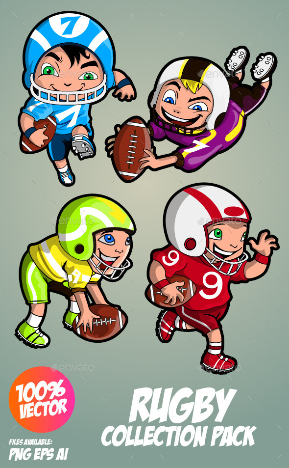 GraphicRiver American Football Collection 11362881