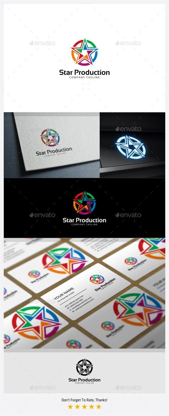 GraphicRiver Star Production Logo 11375170