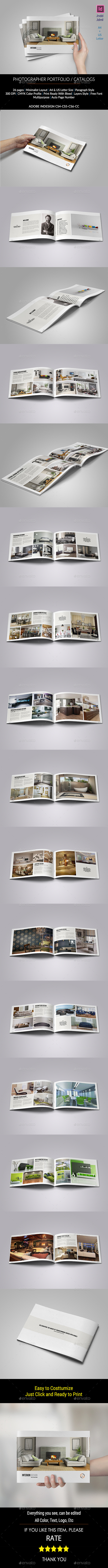 GraphicRiver Interior Brochure Catalogs Portfolio 11375181