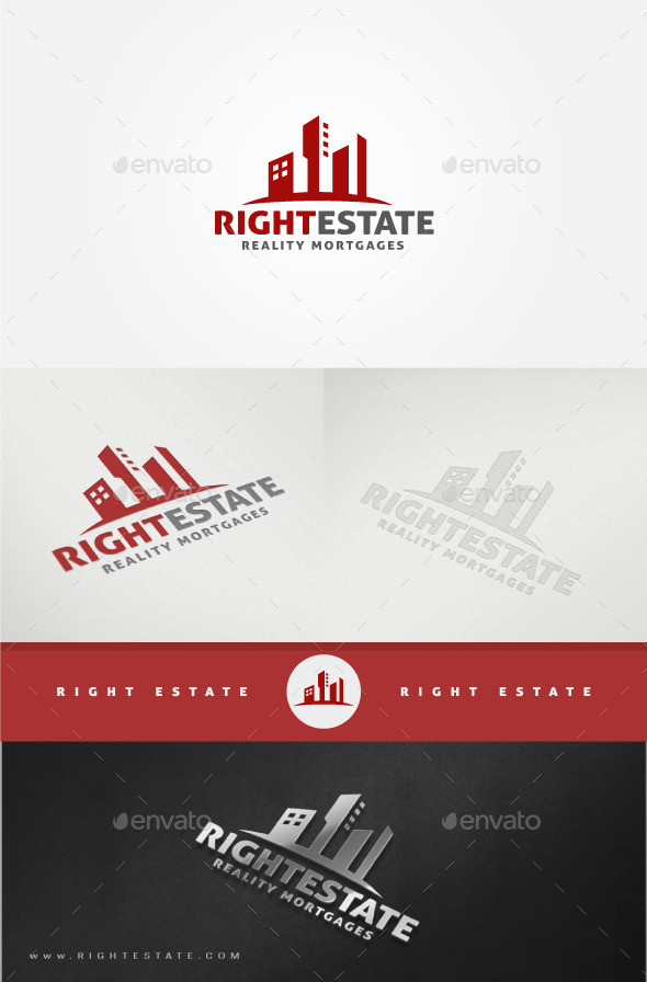 GraphicRiver Real Estate Logo Template 11375229