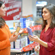 Customer Choosing Cosmetic Products in Supermarket - VideoHive Item for Sale