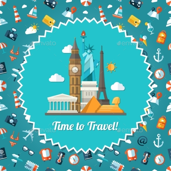 GraphicRiver Travel Postcard 11375527