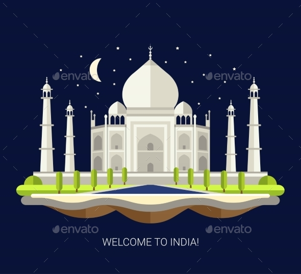 GraphicRiver Travel India 11375538