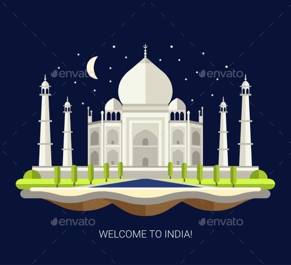 GraphicRiver Travel India 11375538