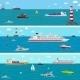 Seamless Horizontal Sea Background - GraphicRiver Item for Sale