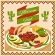 Mexican Food Poster - GraphicRiver Item for Sale