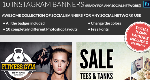 Banners and Social Media Covers