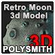 Retro Moon