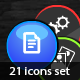cool animated icons set - ActiveDen Item for Sale