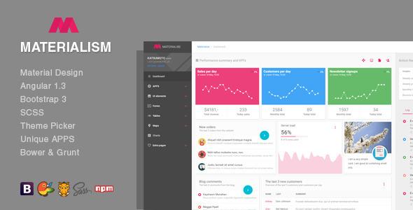 ... - Angular Bootstrap Admin Template - Admin Templates Site Templates