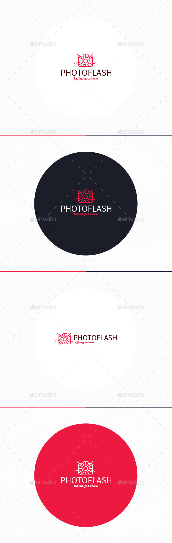 GraphicRiver Photo Flash Logo 11376687